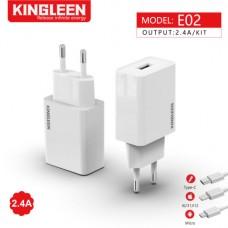 CHARGEUR KINGLEEN E02 Micro 2.4A