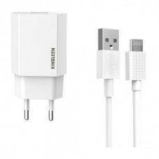 CHARGEUR KINGLEEN Micro/ USB 2.1A