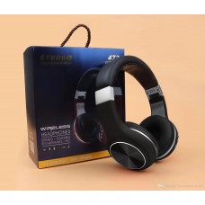 CASQUE STEREO BLUETOOTH / MICRO-SD 473 STEREO