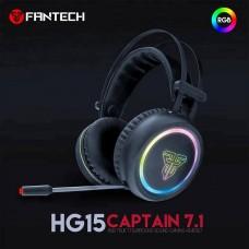 CASQUE MICRO GAMING FANTECH CAPTAIN 7.1 HG 15 RGB