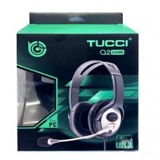 CASQUE MICRO TUCCI Q2 GAME USB